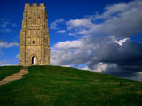 Remains of Medieval Church of St Michael  Somerset  England