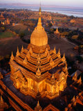 Spire of Htilominlo Pahto  Bagan  Mandalay  Myanmar (Burma)