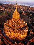 Spire of Htilominlo Pahto  Bagan  Mandalay  Myanmar (Burma)