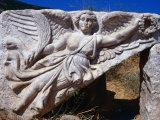 Winged Angel of Victory at Hercules&quot; Gate  Ephesus  Turkey