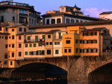 Ponte Vecchio  Florence  Tuscany  Italy