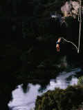 Bungee Jumping at Lake Taupo  Taupo  New Zealand