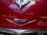 Bonnet of 1956 Chevrolet  Aleppo  Halab  Syria