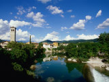 Cividale Del Friuli on the River Natisone  Udine  Friuli-Venezia Giulia  Italy