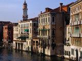 Grand Canal from Rialto Bridge Venice  Italy