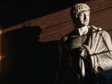 Statue of Hercules at Thorvaldsens Museum  Copenhagen  Denmark
