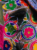 Close-Up of an Elephant  Brightly Painted for the Elephant Festival  Jaipur Rajasthan  India