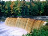 Upper Falls in Tahquamenon Falls State Park  USA