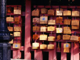 Plaques Lining Walls of Fushimi Inari Shrine in Kyoto  Kyoto  Kinki  Japan