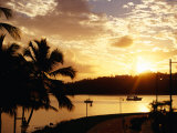Samana Bay at Sunset  Samana  Dominican Republic
