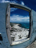 The View from the Abandoned Lighthouse at Cay Sal Bank  Bahamas