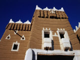 Exterior of Traditional Mud Najran Fort  Najran  Asir  Saudi Arabia