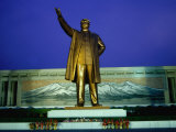 Large Mansudae Statue of Kim Il Sung  P&#39;Yongyang  North Korea