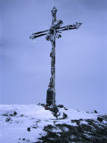 Iron Cross on Summit of Volcan Misti  El Misti  Arequipa  Peru