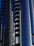Modern Architecture on Corniche  Abu Dhabi  United Arab Emirates