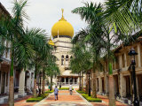 Sultan Mosque  Country's Largest Mosque  Built in 1825  Singapore