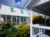 A View of Loyalist Homes and Gardens in Dunmore Town  Dunmore Town  Harbour Island  Bahamas