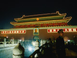 Gate of Heavenly Peace in Tiananmen Square Bejing  China