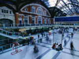 Inside the Bustling Liverpool Station - London  England