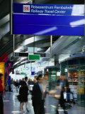 Railway Travel Center at Frankfurt Airport  Frankfurt-Am-Main  Hesse  Germany