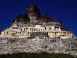 El Castillo  Ancient Classic Mayan Ruins of Xuntunich Xuntunich Cayo  Belize