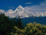 Mt Machupuchare in the Annapurnas Range  Machhapuchhare  Gandaki  Nepal