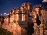 Castillo De Coca  Segovia  Castilla-Y Leon  Spain