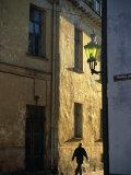 Sunlight Through the Lanes of the Old Town and Toompea  Tallinn  Harjumaa  Estonia