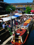 Camden Lock Market  Camden  London  United Kingdom