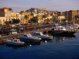 Boats in Harbour  Milazzo  Italy