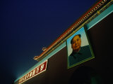 Portrait of Mao Zedong at Gate of Heavenly Peace Bejing  China