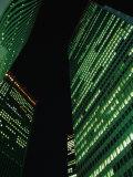 Skyscrapers in Shinjuku at Night  Tokyo  Japan