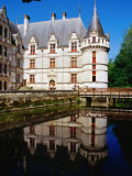 Chateau d'Azay-Le-Rideau on the Indre River  Azay-Le-Rideau  France