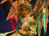 Performer in Chinese Opera  Sheng Hong Temple  Singapore  Singapore