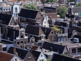 High-Pitched Roof-Tops of Houses  Amsterdam  Netherlands