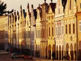 Houses on Namesti Zachariae Z Hradce (Old Town Square)  Telc  Czech Republic
