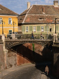 The Liar&#39;s Bridge  Sibiu  Romania 