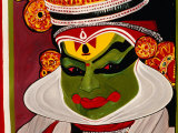 Kathakali Poster  Kochi  India