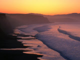 Drakes Bay at Sunrise  Point Reyes National Seashore  USA