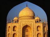 The Taj Mahal Framed by an Arch  Agra  Uttar Pradesh  India