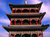 Traditional Chinese Pavillon  Xinjiang  China