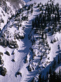 Aerial View of Taos Ski Valley  Taos  New Mexico  USA