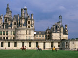 Equestrian Show at Chateau De Chambord in Loire Valley  Chambord  France
