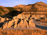 South Unit Area in Badlands  Theodore Roosevelt National Park  North Dakota  USA