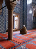 Inside Rustem Pasa Camii Mosque  Turkey