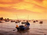 Fishing Boats at Tanjong Bunga  Malaysia