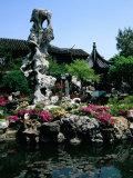 Lingering Gardens  Suzhou  Jiangsu  China