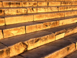 Steps That Lead to the Parthenon at the Acropolis  Athens  Attica  Greece