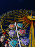 Ferris Wheel During Festival in Town of Aschaffenburg  Bavaria  Germany