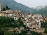 Mountain Town  Anversa di Abruzzi  Abruzzo  Italy